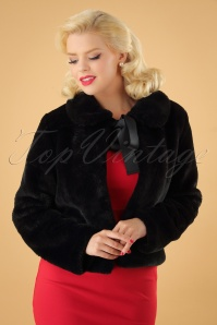 Banned Rock n Roll Swing Fur Jacket 26230 20180718 0010W