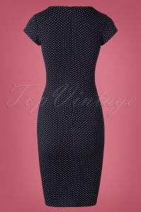 TopVintage Boutique Collection Polkadot Bodycon Pencil Dress 100 39 25961 20181003 0006W