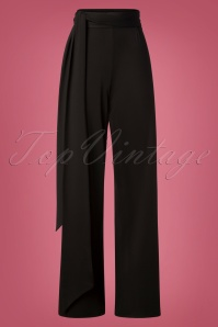 Wild Pony Benot Trousers in Black 131 10 27093 20181003 0003W