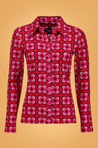 Tante Betsy 60s Floral Blouse 112 27 25422 1W