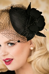 Collectif Gigi Fascinator Black 201 10 25562 10042018 030W