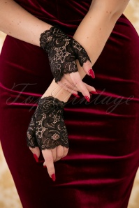 Darling Divine Black Lace gloves 250 10 26912 10042018 035W