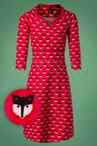 Tante Betsy pink fox dress 106 27 25420 20181005 0025 1