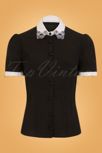 Bunny Laeticia Butterfly Blouse 25888 1W