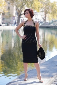 Glamour Bunny Candy Black Pencil Dress 25734 20180622 0013W