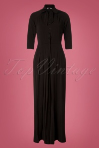 Miss Candyfloss Jumpsuit in Black 26315 20180726 0009W