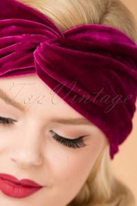 Blutsgeschwister Velvet Headband 202 60 26035 10042018 018W