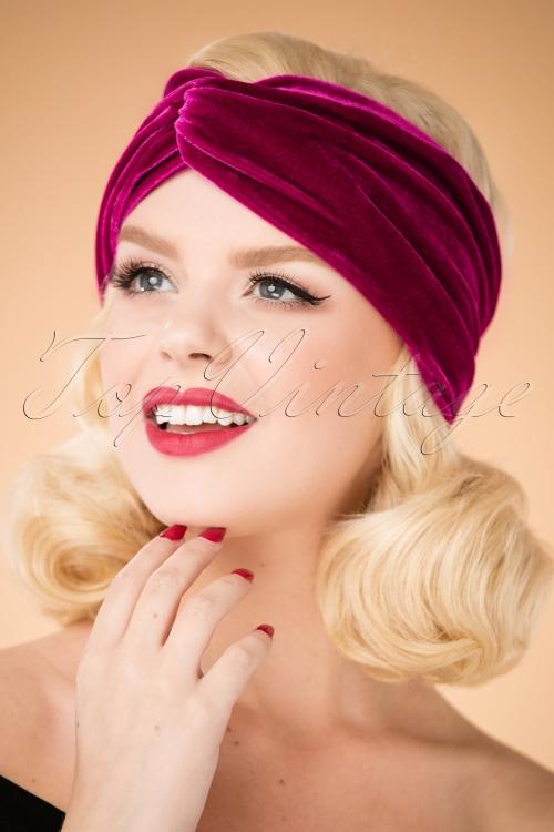 Blutsgeschwister Velvet Headband 202 60 26035 10042018 003W