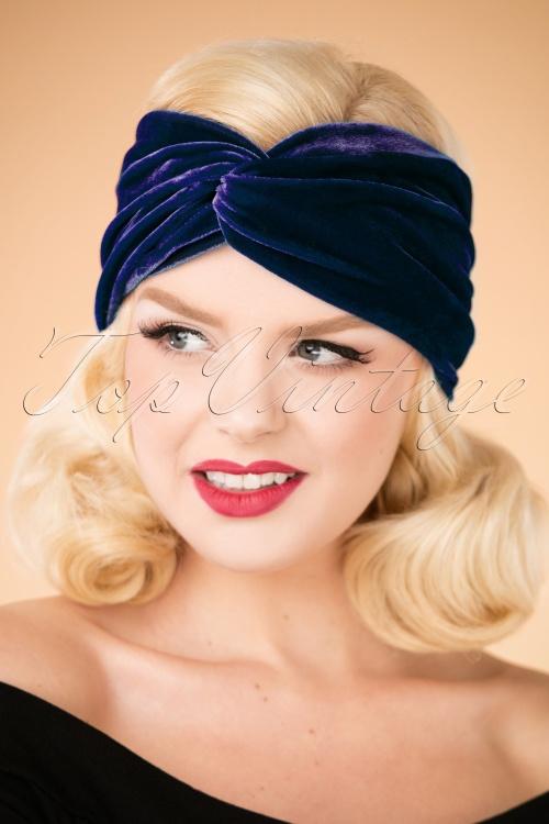 Blutsgeschwister Velvet Headband 202 30 26036 10042018 006W