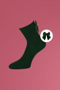 Marcmarcs 50s Kirsten Socks in Green