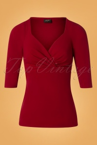 Steady Clothing Long Sleeve Ruby Red Top 113 20 26972 20181009 0002W