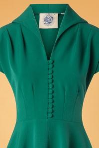 Pretty Retro Pretty 40s Green Dress 102 40 27711 20181009 0002V