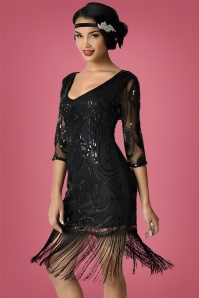 Unique Vintage Margaux Flapper Dress 100 10 27678 2