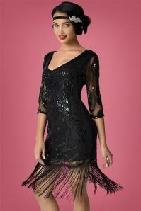 Unique Vintage Margaux Flapper Dress 100 10 27678 2