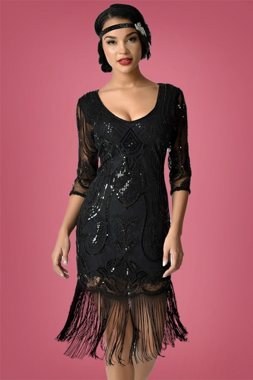 Unique Vintage Margaux Flapper Dress 100 10 27678 1