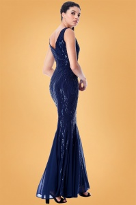 Vintage Chic Sequin Long Dress 108 31 28116 2