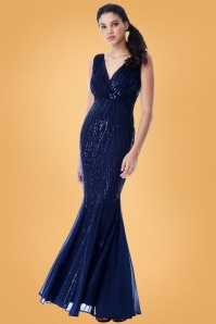 Vintage Chic Sequin Long Dress 108 31 28116 1