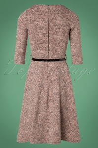Vintage Chic Pink Tweed Swing Dress 102 22 27367 20181009 0005W