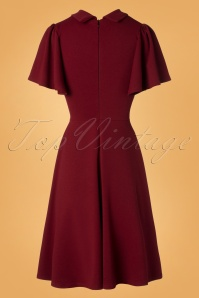 Vintage Chic Wine Swing Dress 102 20 28283 20181009 0004W