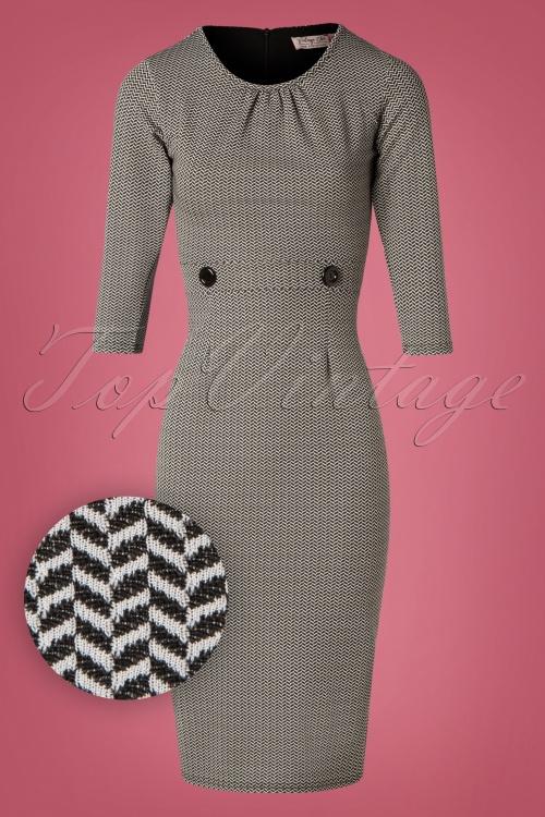 Vintage Chic Jacquard Sleeve 100 14 26454 20181010 0002W1