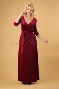 Vixen Elizabeth Red Maxi Dress 108 20 25002 20180927 0009W
