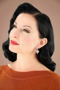 Collectif Clothing Silver earrings 333 92 25550 08222018 006W
