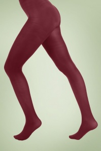 PamelaMann 80Den Tights Burgundy 171 20 27926 20171212 0001W