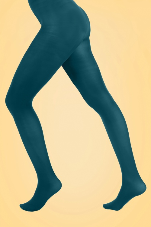 PamelaMann 50Den Tights Teal 171 30 27917 20171212 0002W