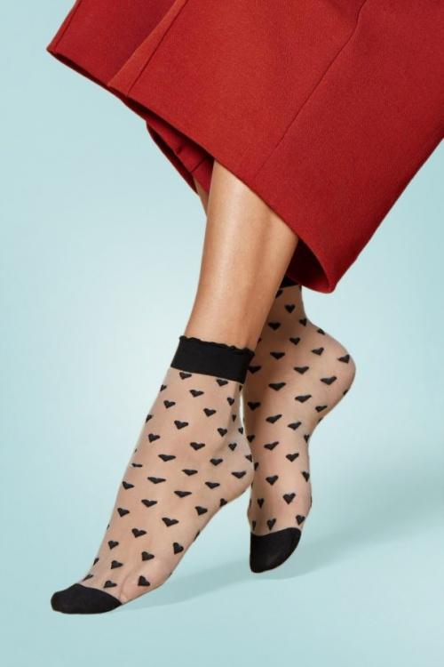 Fiorella Jeunet 20den Socks LinenBlack 174 58 27774 20181011 0001W