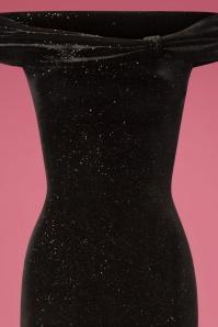 Vintage Chic Black Velvet Glitter 108 10 28025 20181011 0310V
