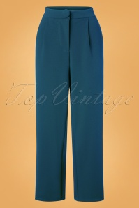40s Mino Trousers in Blue