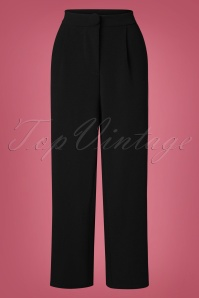 40s Mino Trousers in Black