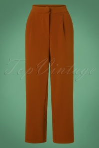 40s Mino Trousers in Brown