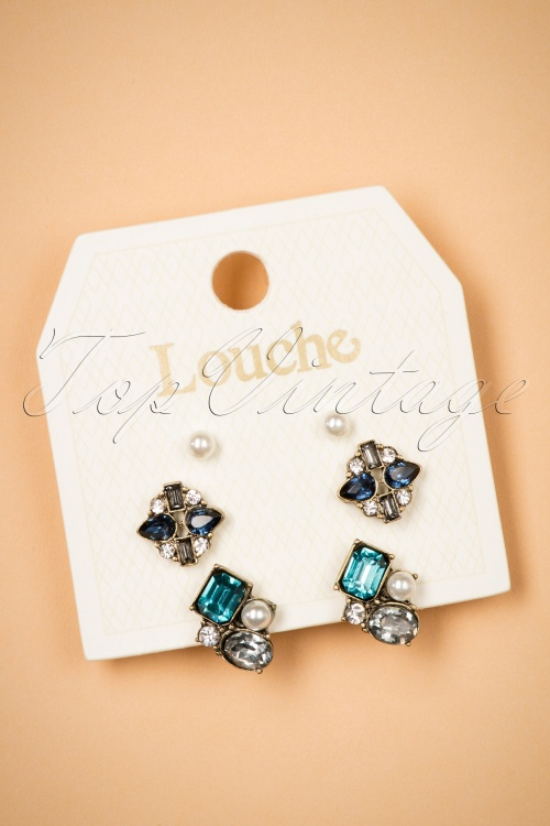 Louche Earring set 330 39 25863 10112018 003W