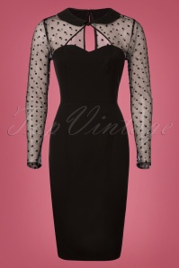 Bunny Black Pencil Dress 100 10 25848 20180608 0002W