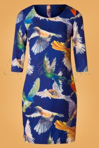 Smashed Lemon Blue Birds Dress 100 39 26127 20181011 0434W