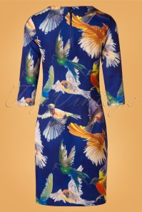Smashed Lemon Blue Birds Dress 100 39 26127 20181011 0433W