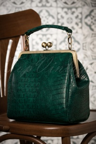 TopVintage Boutique Mindy bag in green 212 40 26422 10162018 017W