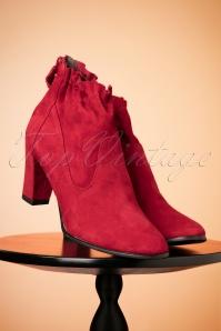 Tamaris Lipstick Red Ankleboots 441 22 25787 10112018 010W