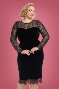 Collectif Clothing Illona Pencil Dress 24897 1