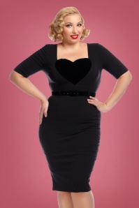 Collectif Clothing Ophelia Pencil Dress 24885 1