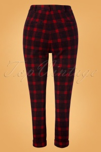 Louche Jaylo Plaid Trousers 131 27 26613 20181012 0005W