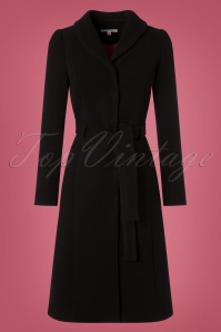 Very Cherry Dahlia Black Coat  152 10 25677 20181012 0003W