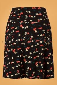 King Louie Border Skirt Cherry Pie in Black 25379 20180725 0003W