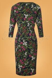 King Louie Tallulah Dress in Astoria Floral Print 25378 20180802 0005W