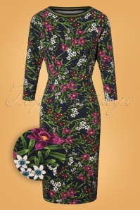 King Louie Tallulah Dress in Astoria Floral Print 25378 20180802 0002Z