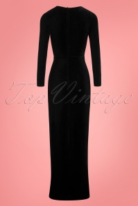Collectif Clothing Billa Velvet Maxi Dress 108 10 24801 20180628 0008W