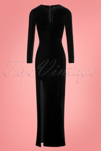 Collectif Clothing Billa Velvet Maxi Dress 108 10 24801 20180628 0002W