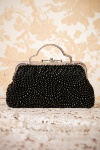 Banned Agnes 20s Clutch in black 212 10 26178 07102018 003W