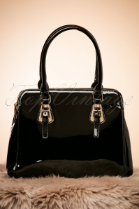 60s Carly Handbag in Black